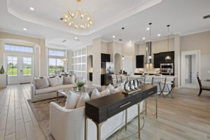 The National Golf & Country Club by Lennar- Bougainvillea II great room