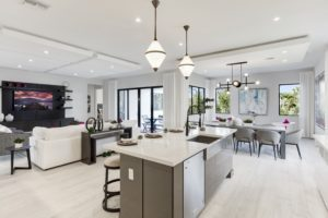 Maple Ridge by CC Homes Harbour interior - Community of Ave Maria